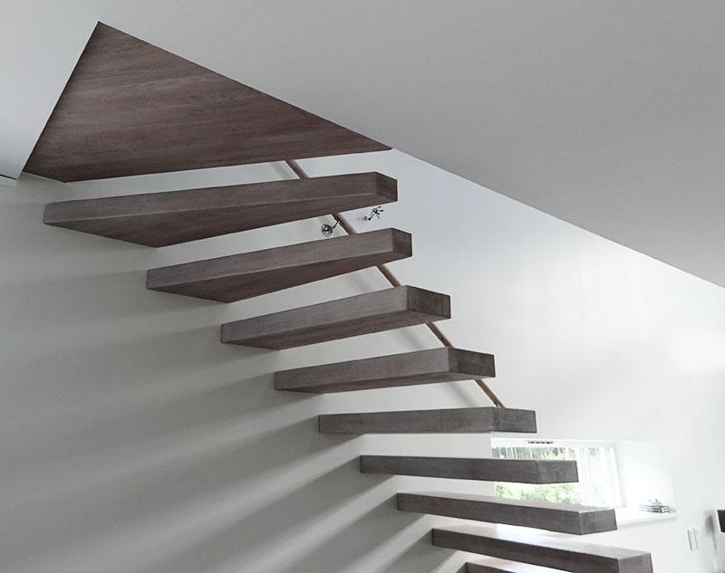 Flytande trappa.